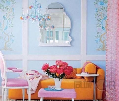 家居墙体贴画鲜花
