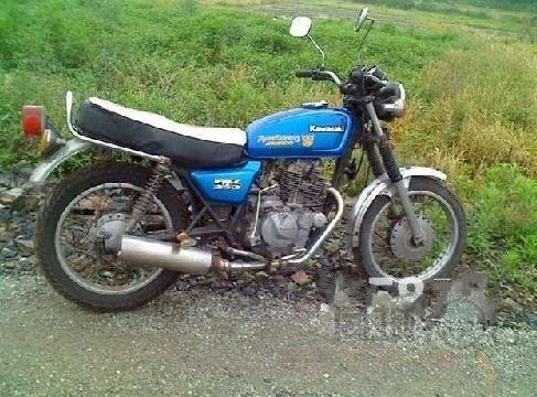 精品黄河川崎250摩托车转让