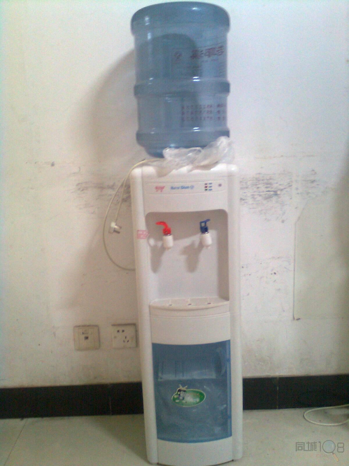 [越城区]立式饮水机,加一个桶哦
