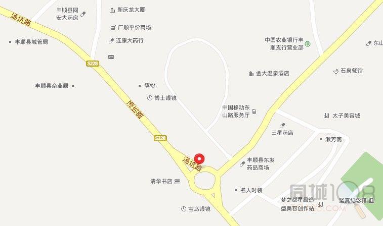 广东省丰顺县福利院办公地址设在汤坑镇汤