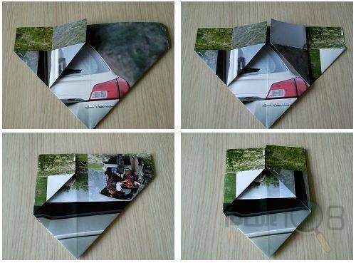 折纸垃圾盒