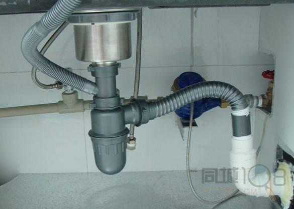 洗碗池下水管道堵塞巧疏通