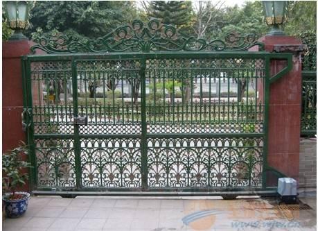 [诸暨市]安装不锈钢及铁艺围墙大门(可加装遥控)