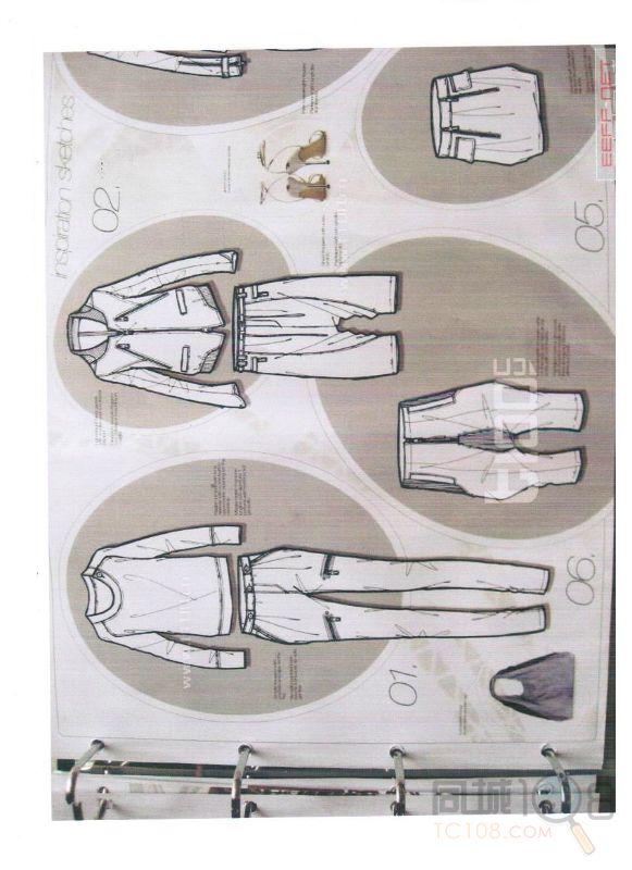 童装结构设计 主要介绍童装牛仔裙,童装连衣裙,男童长裤,女童七分裤