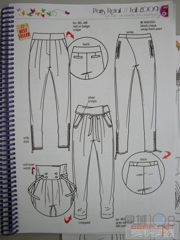 针织服装a型手绘图