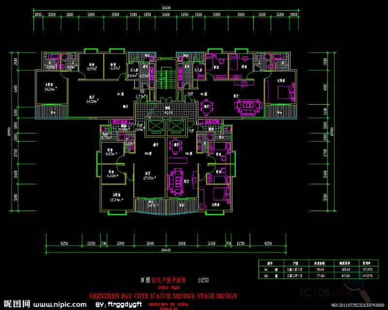 具有代表性的室内设计工程案例的绘制,培养学员按照施工图制图规范,来