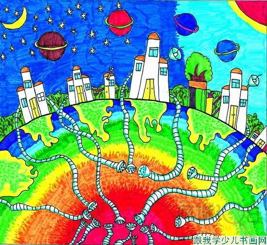 幼儿启蒙兴趣班——儿童简笔画,点,线,面的造型,认识图形,工具及简单