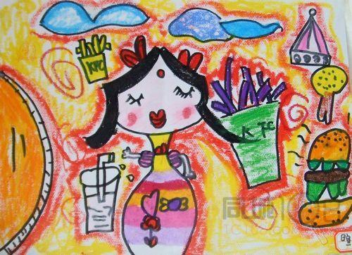 儿童简笔画,点,线,面的造型,认识图形,工具及简单的图形造型训练. 2.