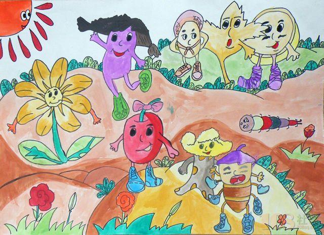 增强绘画表现手法,让孩子有着大师般的自信.