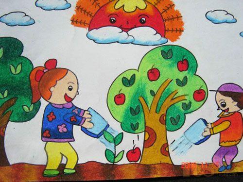 最美鹤壁儿童绘画