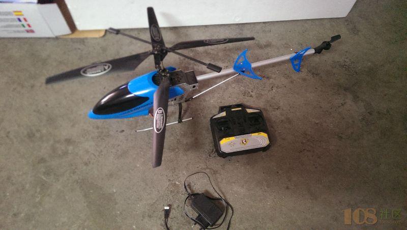 9成新 遥控直升机 出售