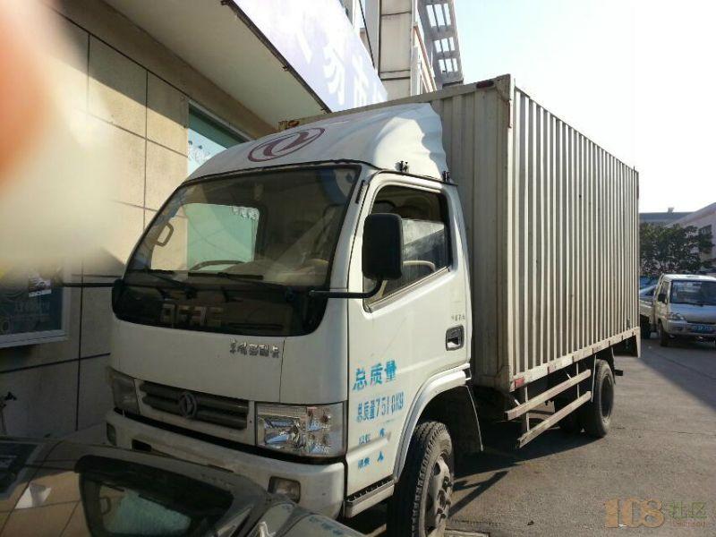 东风多利卡厢式货车图片