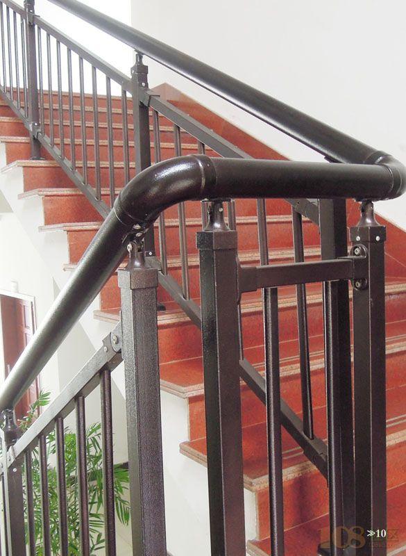 装护栏楼梯扶手百叶窗