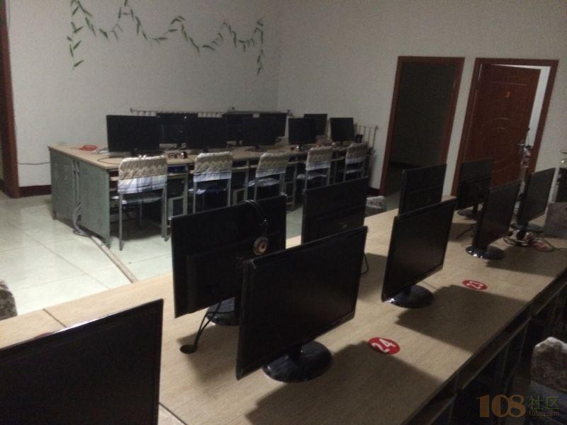 电脑工作室培训外宣人员.