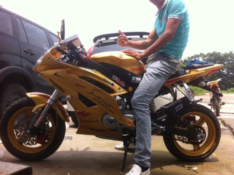 [嵊州市] 出售二手摩托车电瓶车轮胎 [嵊州市] 铃木丰彩,秒杀yamaha