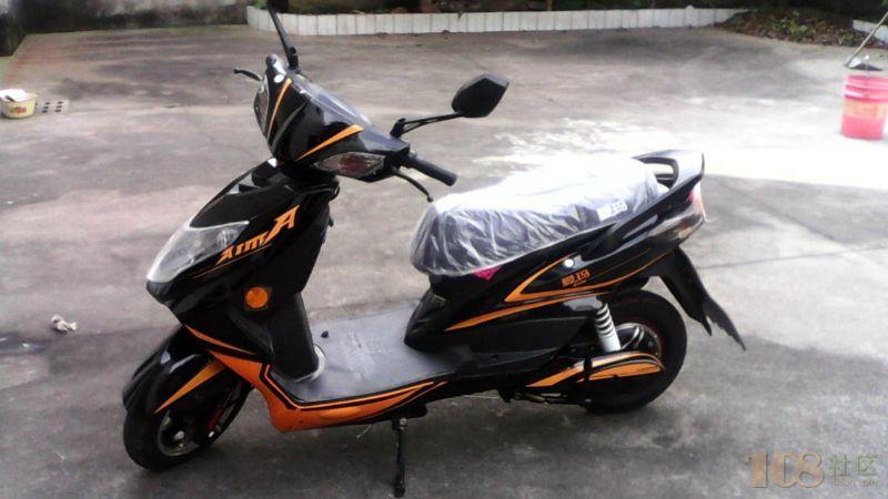 [嵊州市] 出售二手摩托车电瓶车轮胎 [嵊州市] 中华剑 电瓶车 大车5